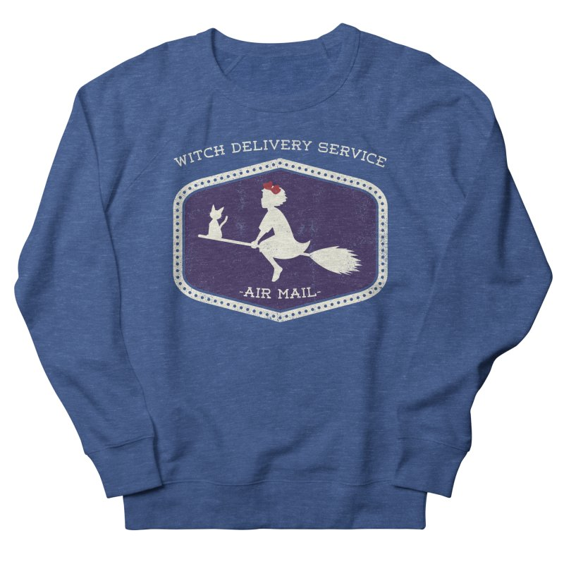 Witch Delivery Service Men's Sweatshirt by Jason Cryer