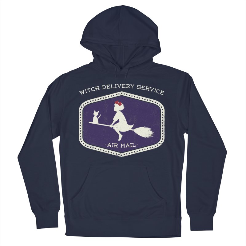 Witch Delivery Service Women's French Terry Pullover Hoody by Jason Cryer