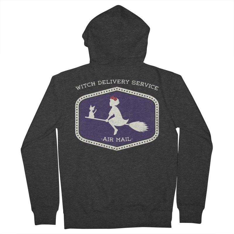 Witch Delivery Service Women's Zip-Up Hoody by jasoncryer's Artist Shop