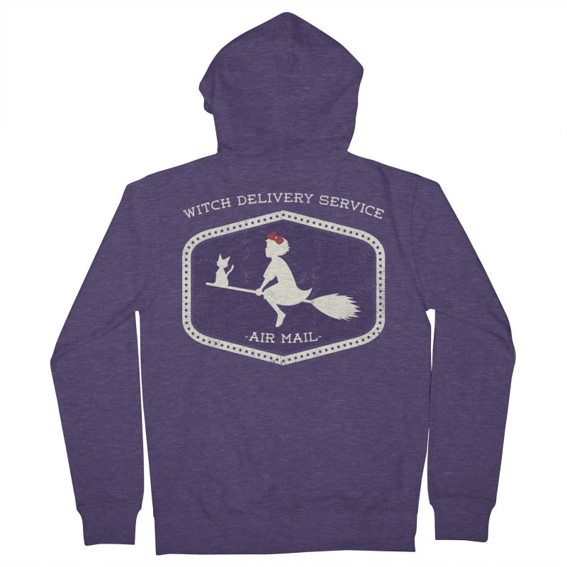 Witch Delivery Service Men's Zip-Up Hoody by jasoncryer's Artist Shop