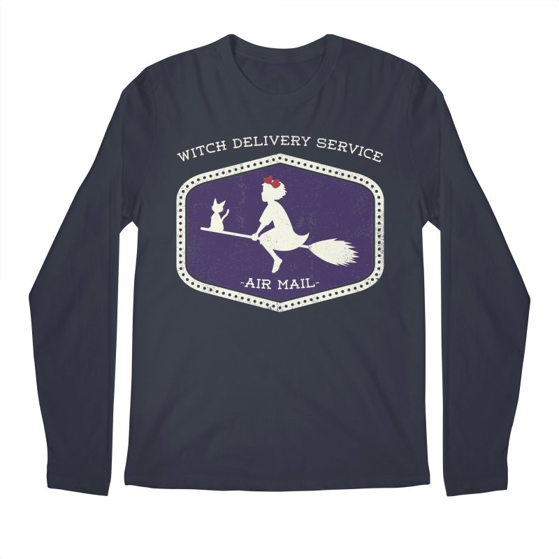 Witch Delivery Service Men's Longsleeve T-Shirt by jasoncryer's Artist Shop