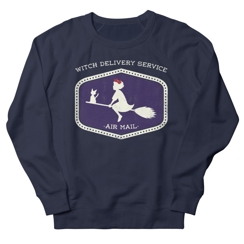 Witch Delivery Service Women's French Terry Sweatshirt by jasoncryer's Artist Shop
