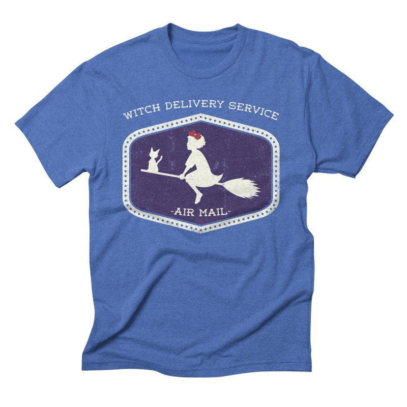 Witch Delivery Service Men's Triblend T-Shirt by Jason Cryer