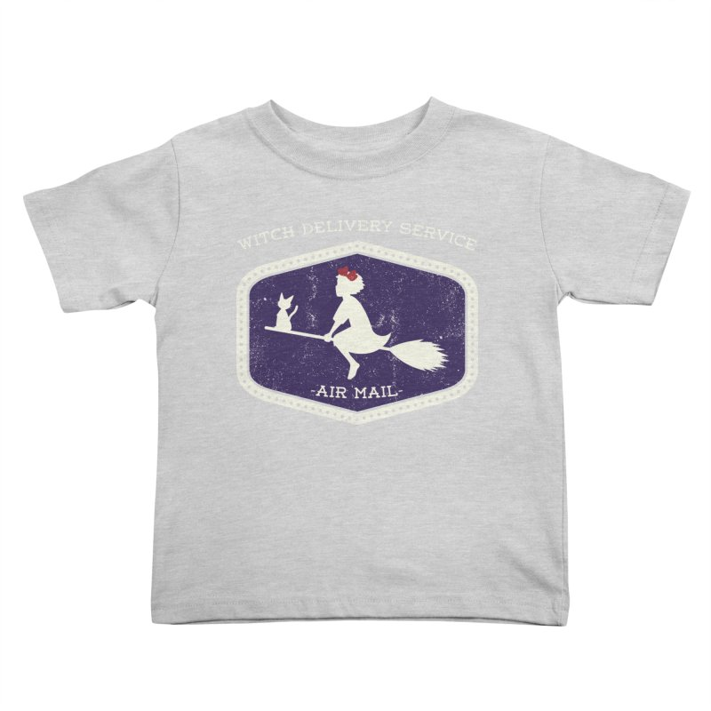 Witch Delivery Service Kids Toddler T-Shirt by jasoncryer's Artist Shop