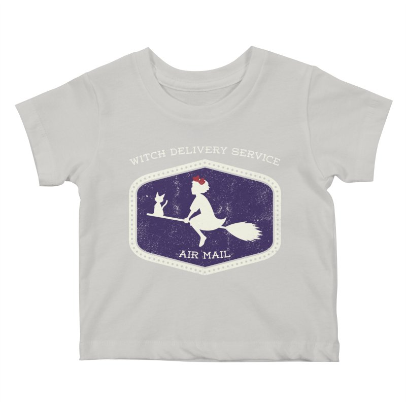 Witch Delivery Service Kids Baby T-Shirt by jasoncryer's Artist Shop