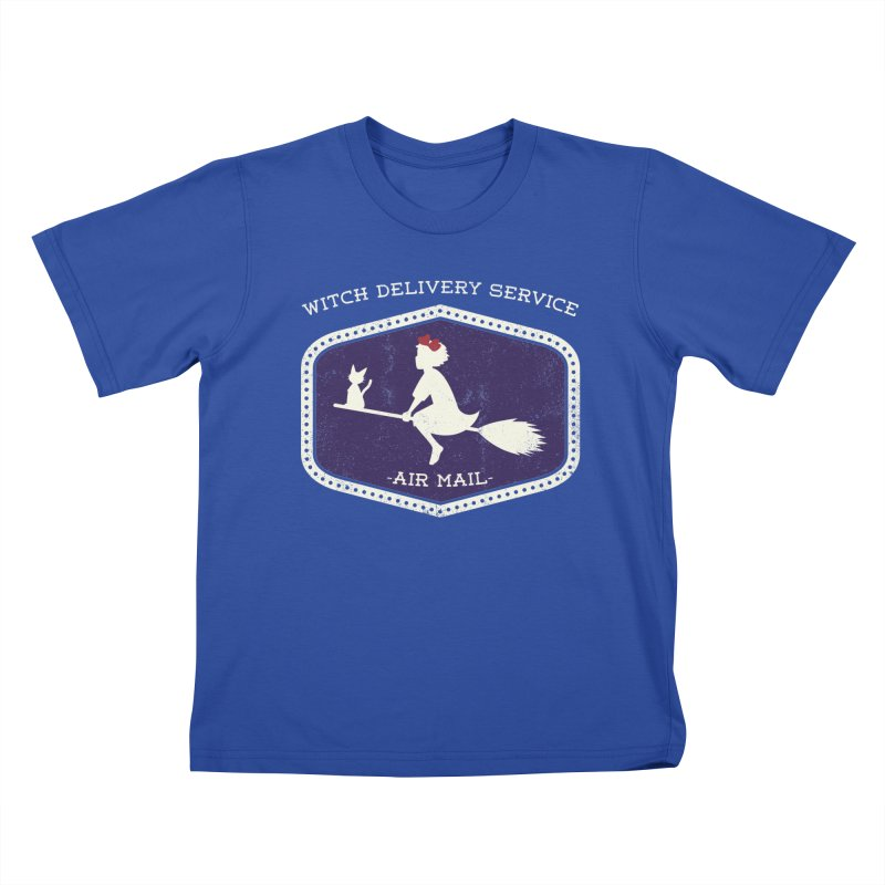 Witch Delivery Service Kids T-Shirt by jasoncryer's Artist Shop