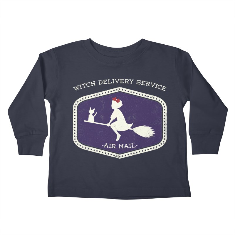 Witch Delivery Service Kids Toddler Longsleeve T-Shirt by jasoncryer's Artist Shop