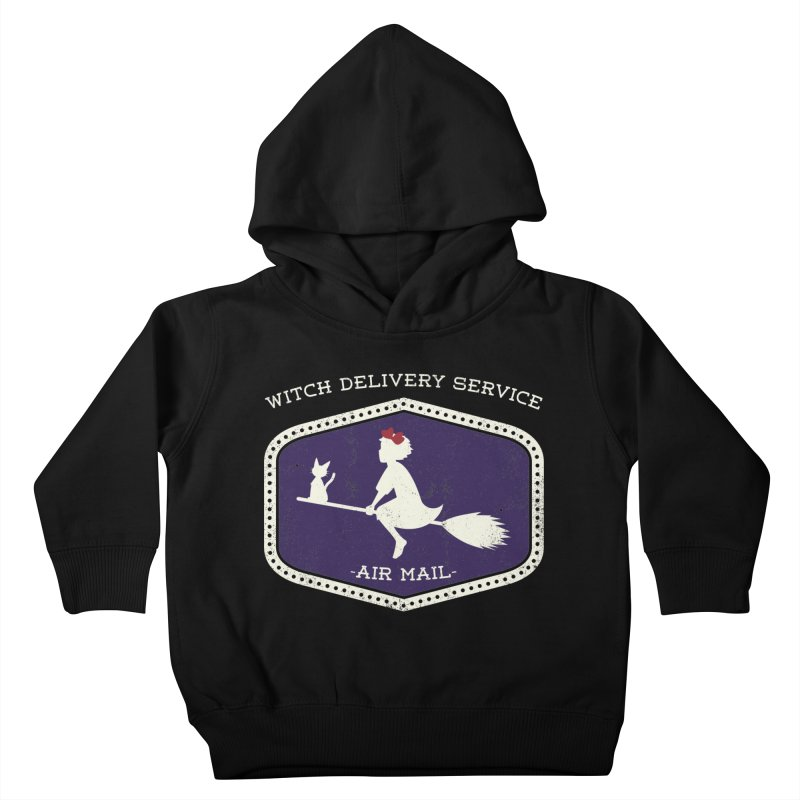 Witch Delivery Service Kids Toddler Pullover Hoody by jasoncryer's Artist Shop