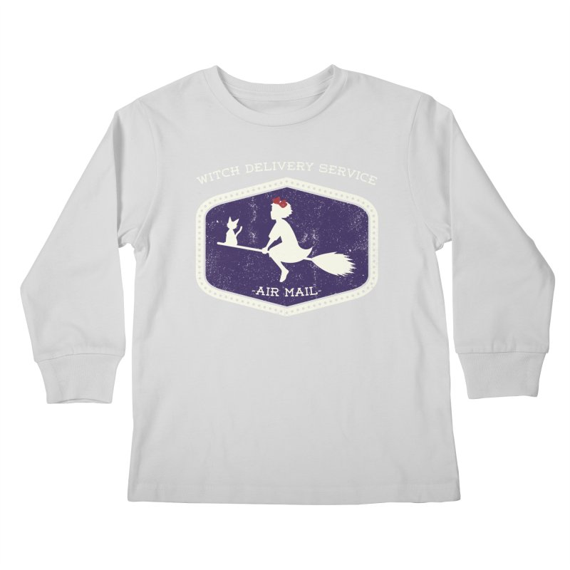 Witch Delivery Service Kids Longsleeve T-Shirt by Jason Cryer