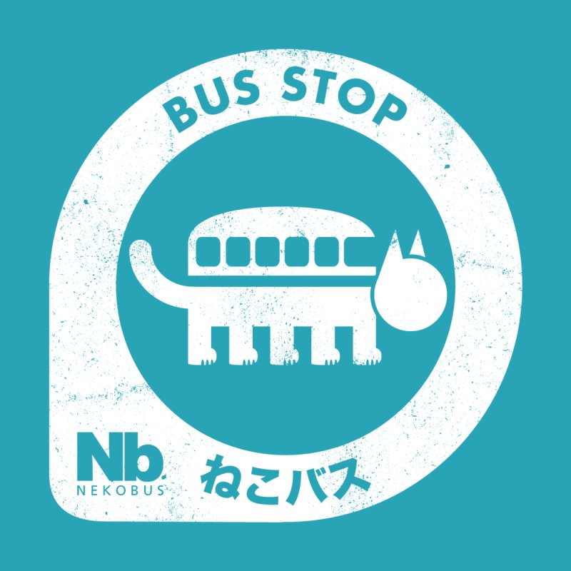 NekoBus Stop by jasoncryer's Artist Shop