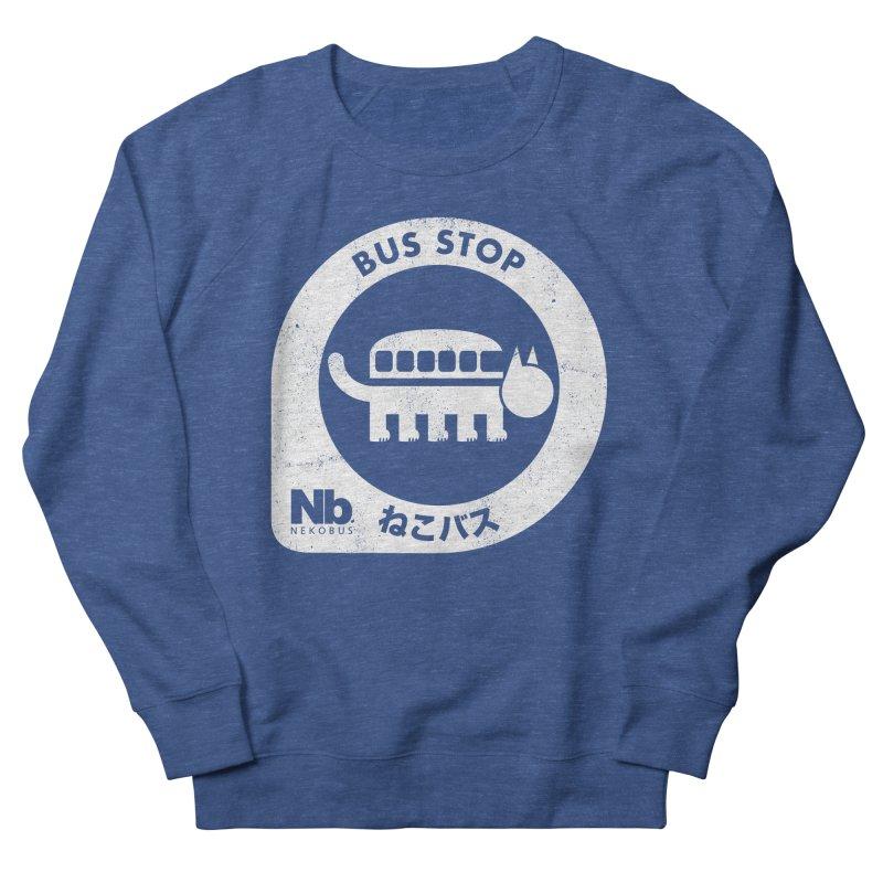NekoBus Stop Men's Sweatshirt by Jason Cryer