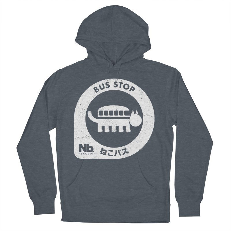 NekoBus Stop Women's French Terry Pullover Hoody by jasoncryer's Artist Shop