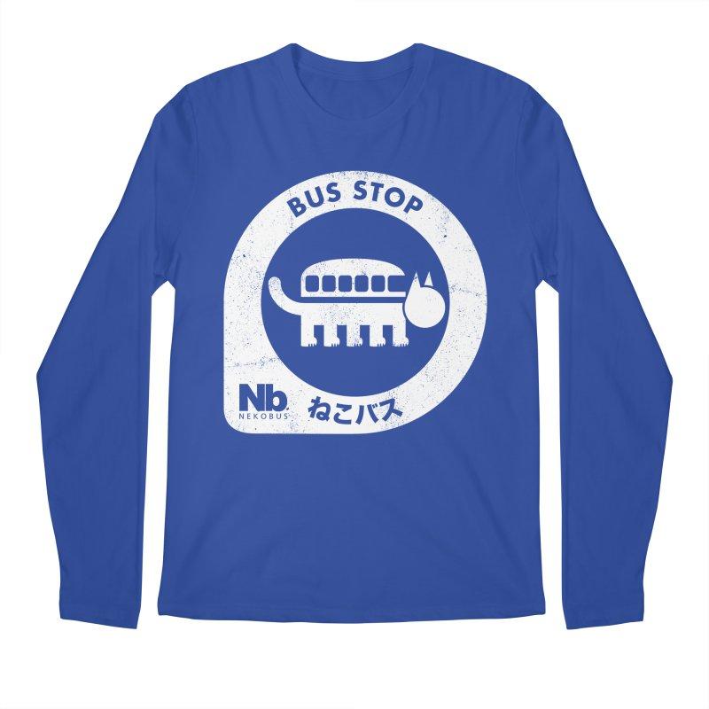 NekoBus Stop Men's Regular Longsleeve T-Shirt by jasoncryer's Artist Shop