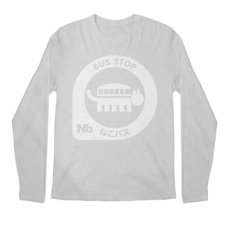 NekoBus Stop Men's Regular Longsleeve T-Shirt by Jason Cryer