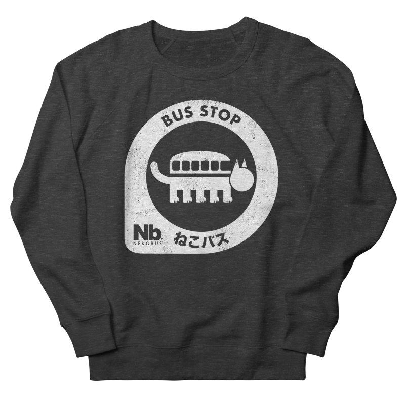 NekoBus Stop Men's French Terry Sweatshirt by jasoncryer's Artist Shop