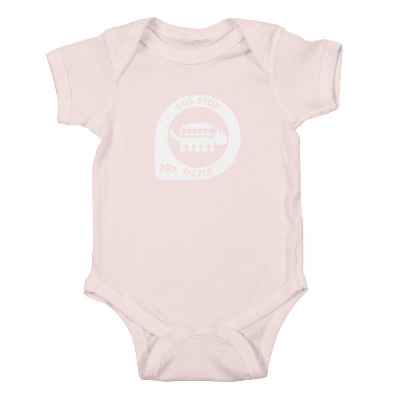 NekoBus Stop Kids Baby Bodysuit by jasoncryer's Artist Shop