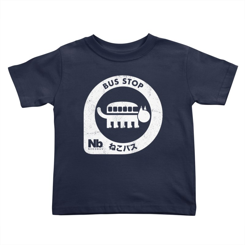 NekoBus Stop Kids Toddler T-Shirt by jasoncryer's Artist Shop