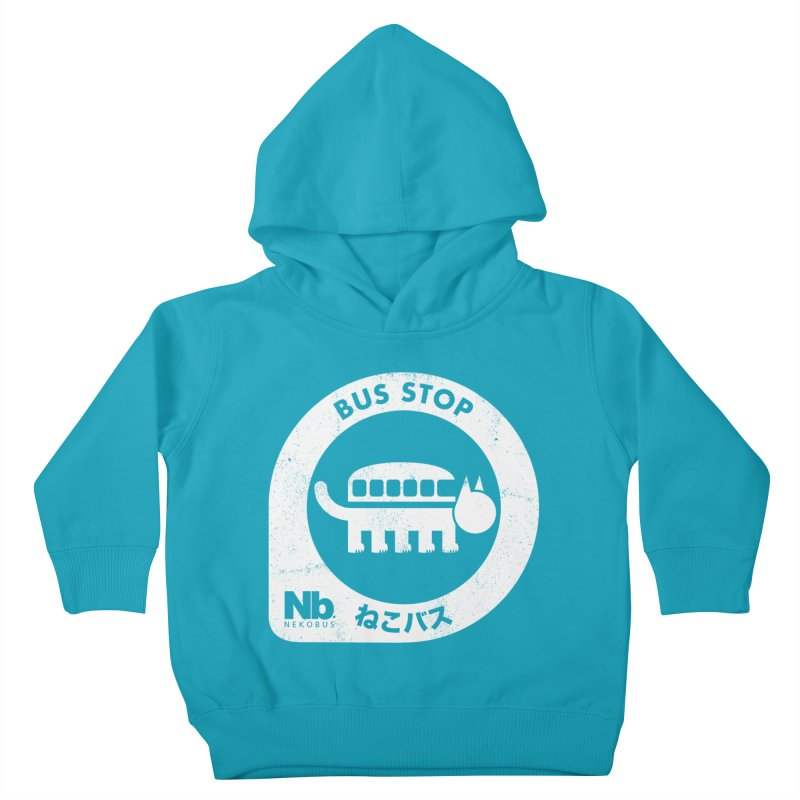 NekoBus Stop Kids Toddler Pullover Hoody by jasoncryer's Artist Shop