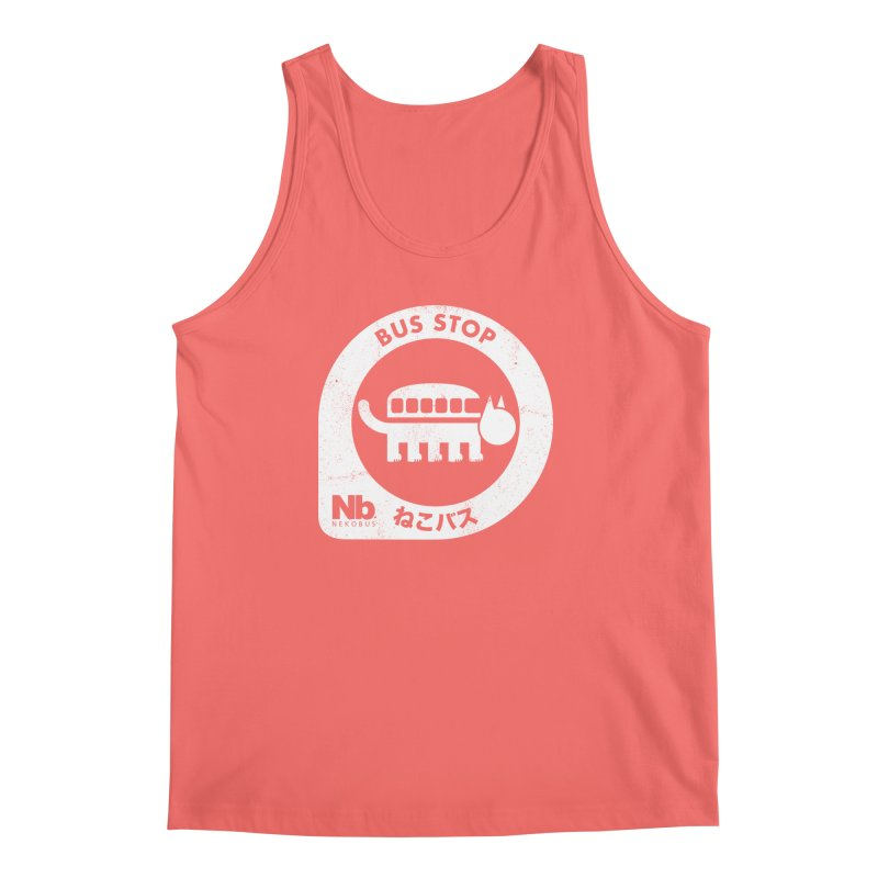 NekoBus Stop Men's Tank by jasoncryer's Artist Shop