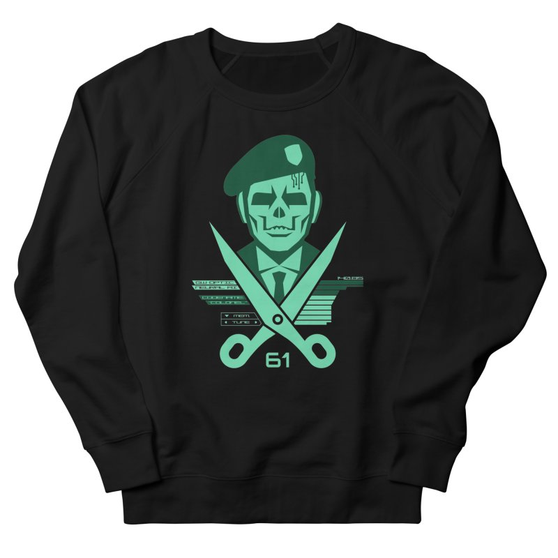 Scissors 61 Men's Sweatshirt by Jason Cryer