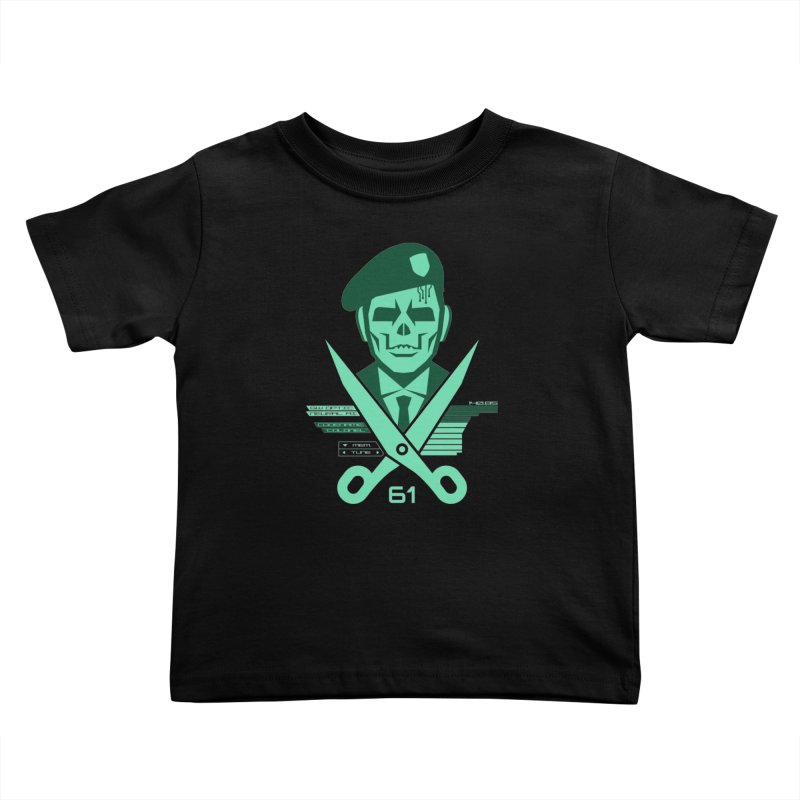 Scissors 61 Kids Toddler T-Shirt by jasoncryer's Artist Shop
