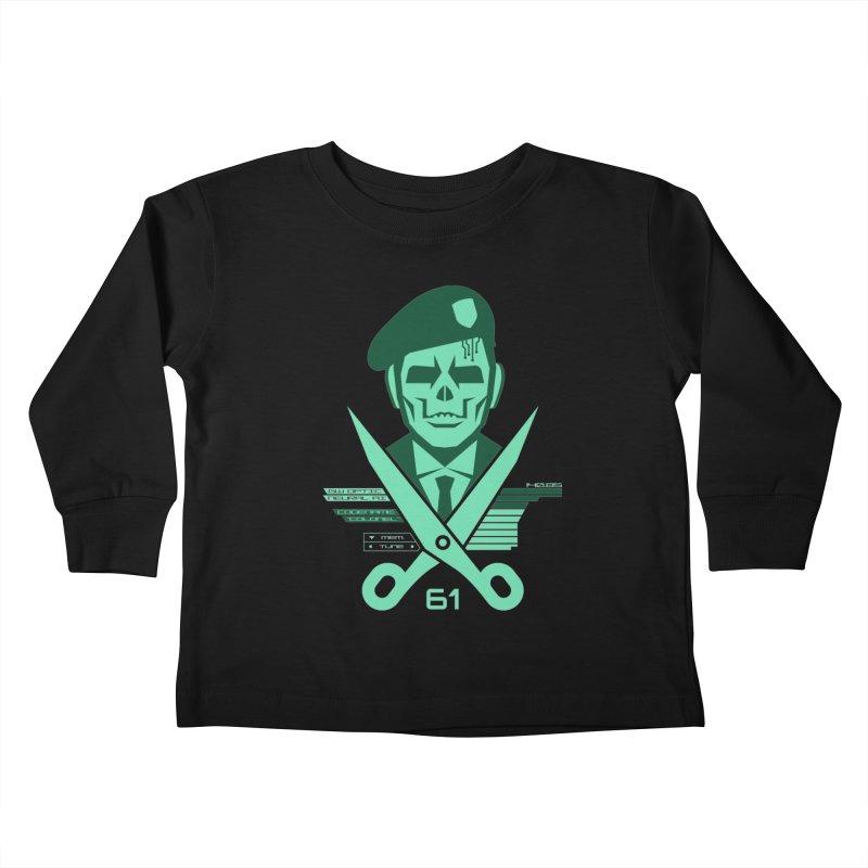 Scissors 61 Kids Toddler Longsleeve T-Shirt by Jason Cryer