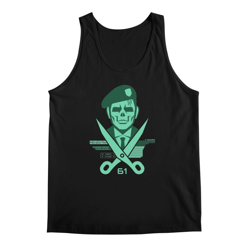 Scissors 61 Men's Regular Tank by jasoncryer's Artist Shop