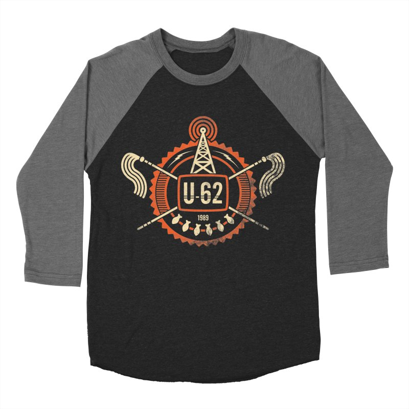 U62 Women's Baseball Triblend Longsleeve T-Shirt by Jason Cryer