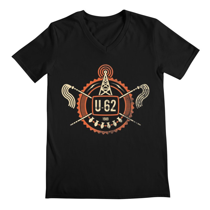U62 Men's V-Neck by jasoncryer's Artist Shop