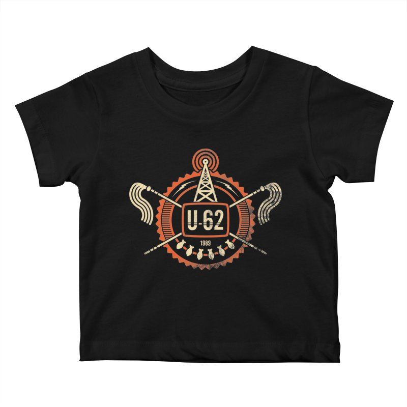 U62 Kids Baby T-Shirt by jasoncryer's Artist Shop