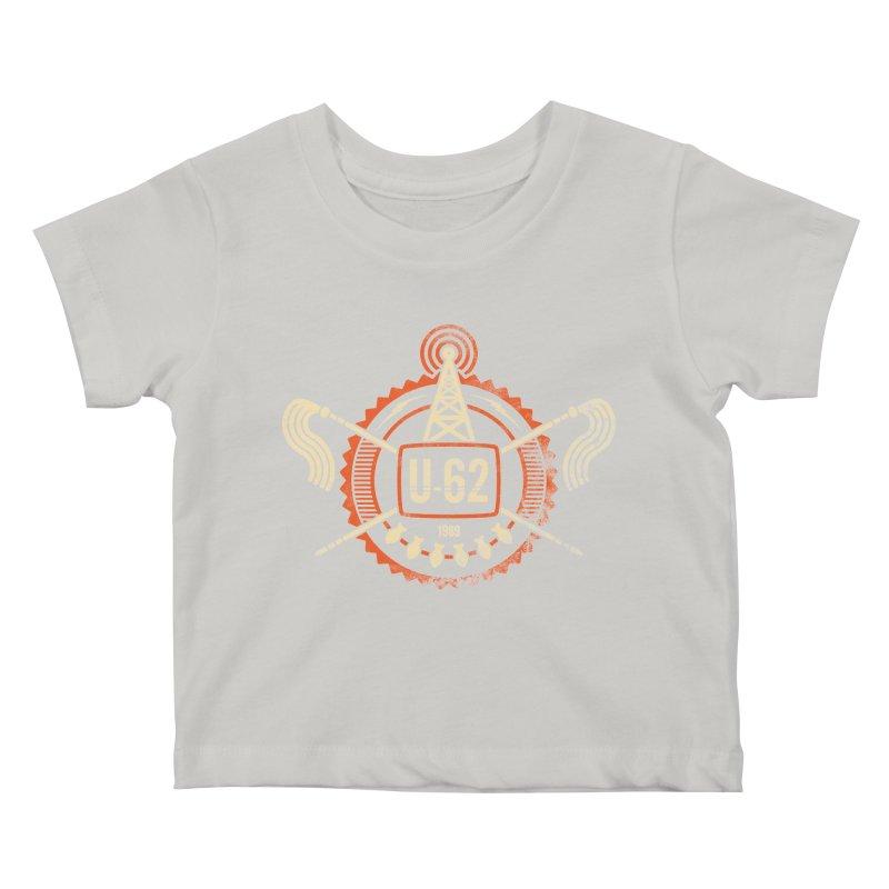 U62 Kids Baby T-Shirt by jasoncryer's Artist Shop