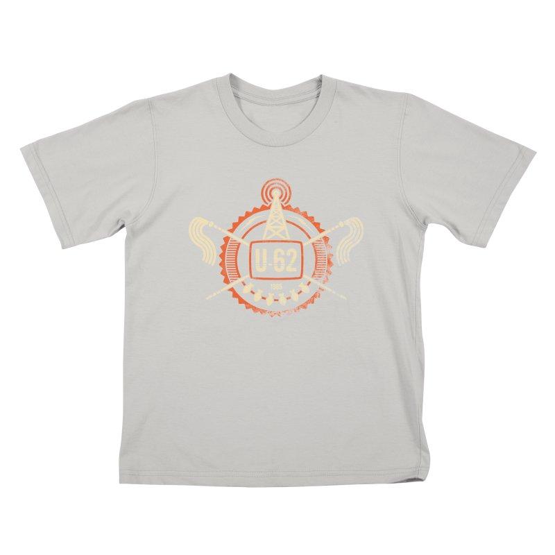 U62 Kids T-shirt by jasoncryer's Artist Shop
