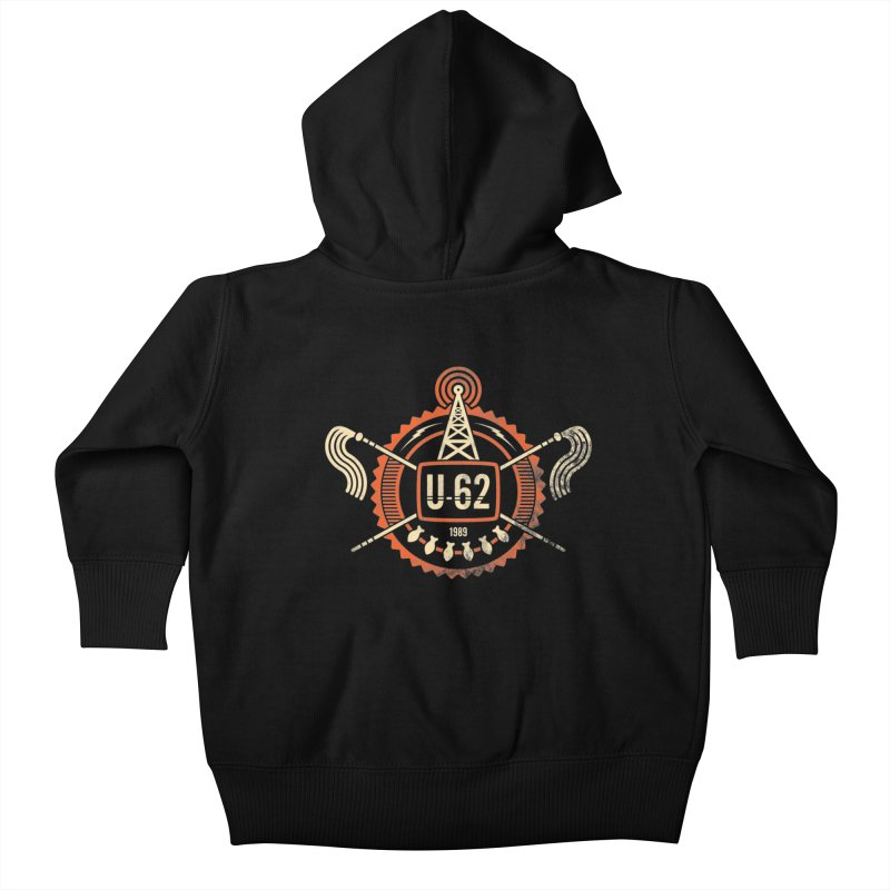 U62 Kids Baby Zip-Up Hoody by jasoncryer's Artist Shop