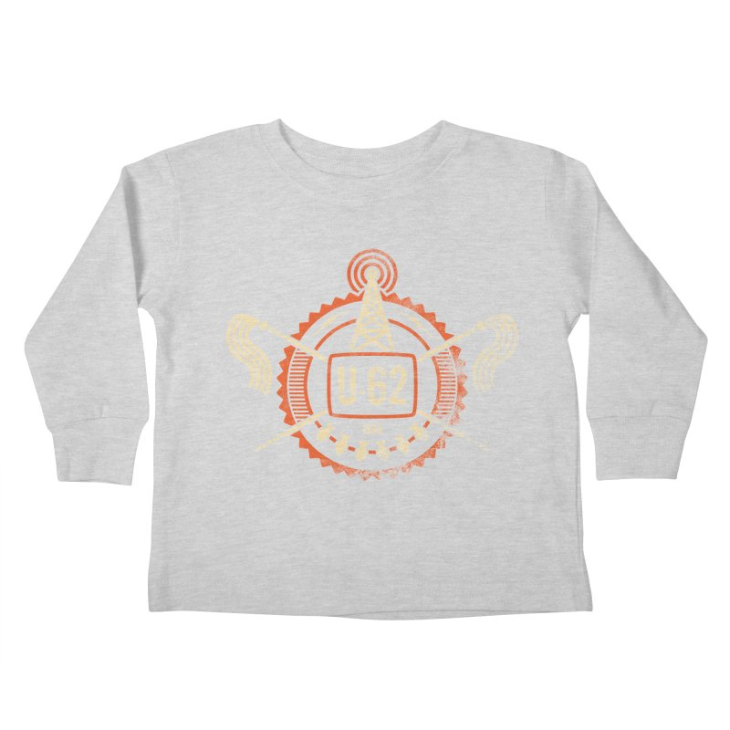 U62 Kids Toddler Longsleeve T-Shirt by jasoncryer's Artist Shop