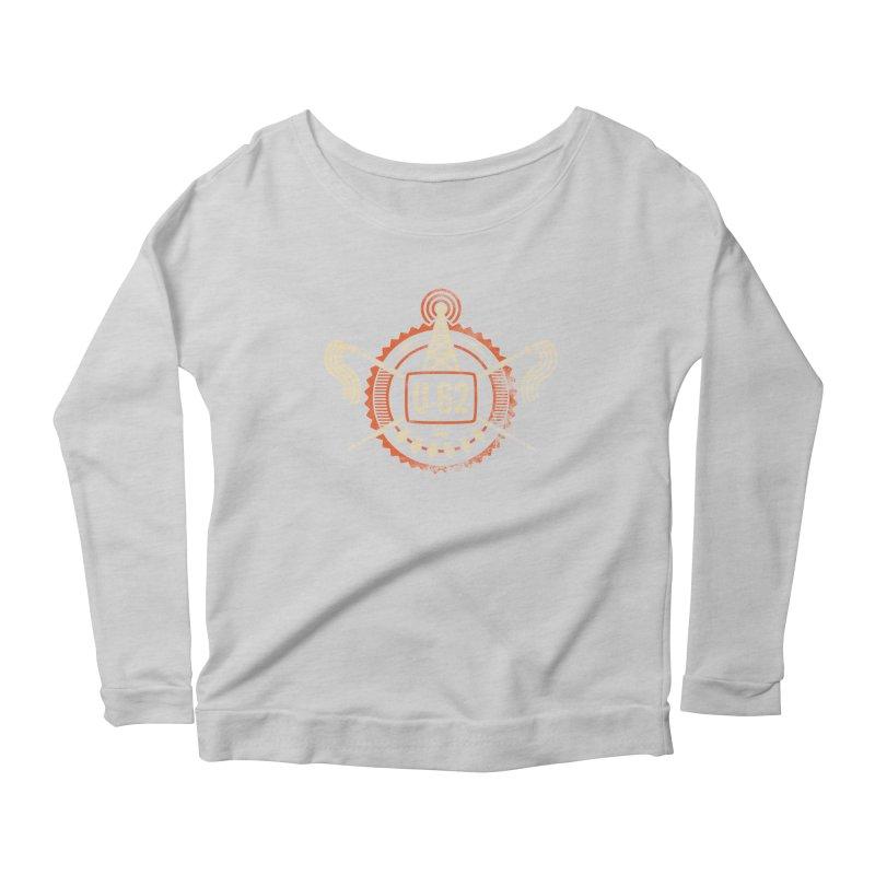 U62 Women's Scoop Neck Longsleeve T-Shirt by Jason Cryer