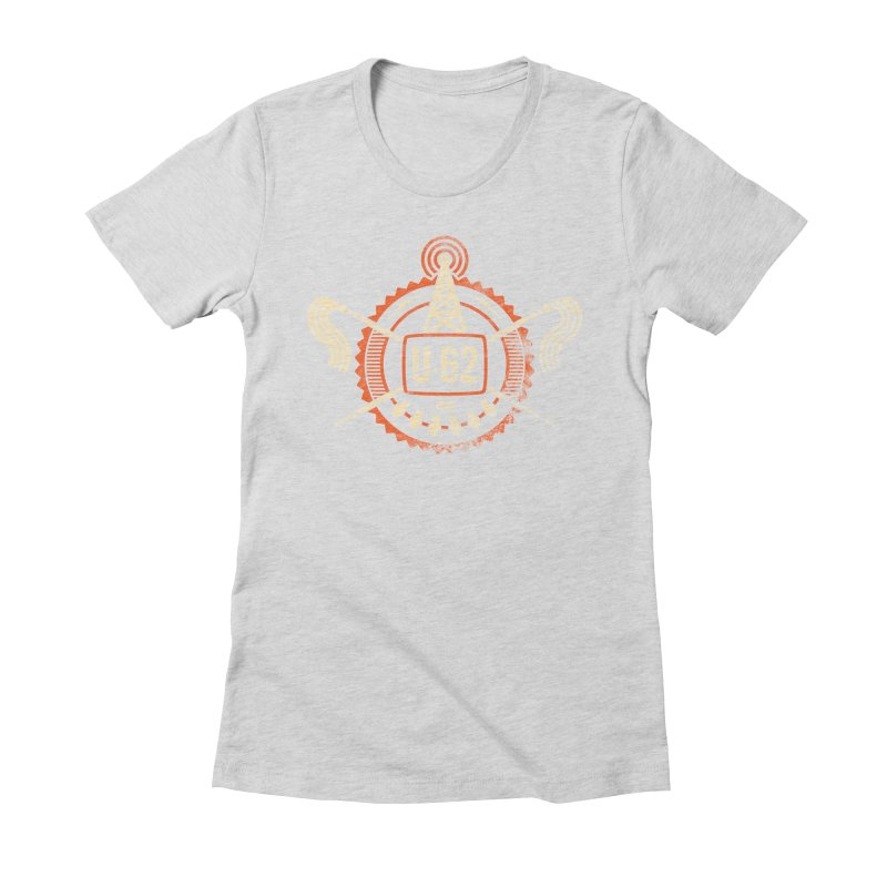 U62 Women's Fitted T-Shirt by jasoncryer's Artist Shop