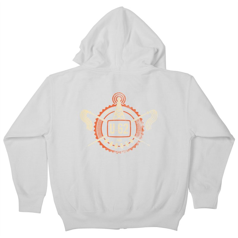 U62 Kids Zip-Up Hoody by jasoncryer's Artist Shop