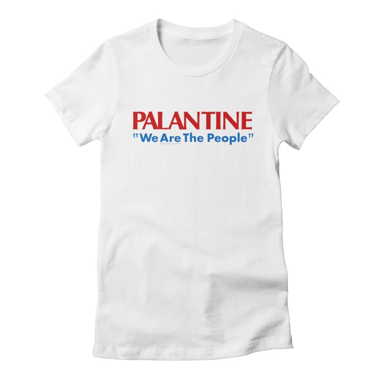 Palantine '76 Women's Fitted T-Shirt by jasoncryer's Artist Shop