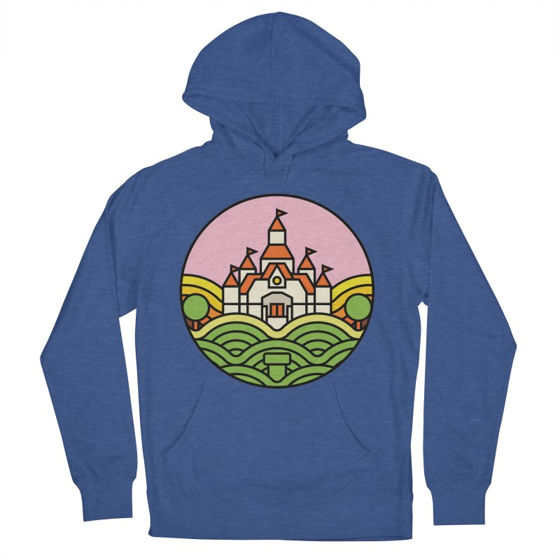 The Mushroom Kingdom Women's French Terry Pullover Hoody by Jason Cryer