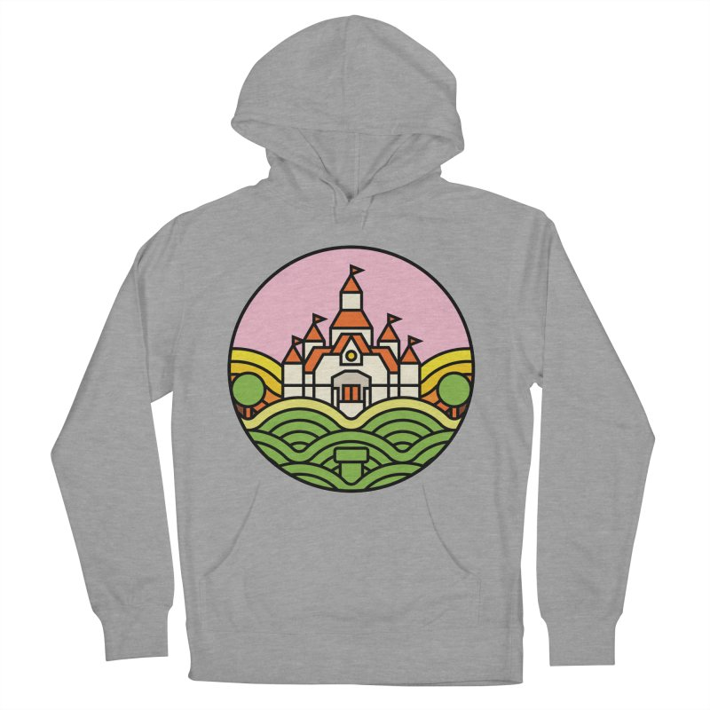 The Mushroom Kingdom Women's French Terry Pullover Hoody by jasoncryer's Artist Shop