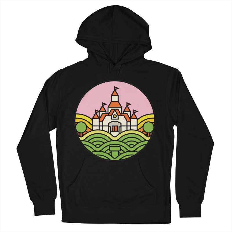 The Mushroom Kingdom Men's French Terry Pullover Hoody by Jason Cryer