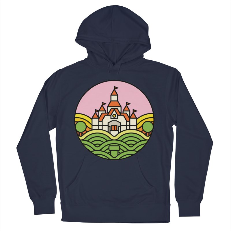 The Mushroom Kingdom Men's French Terry Pullover Hoody by jasoncryer's Artist Shop