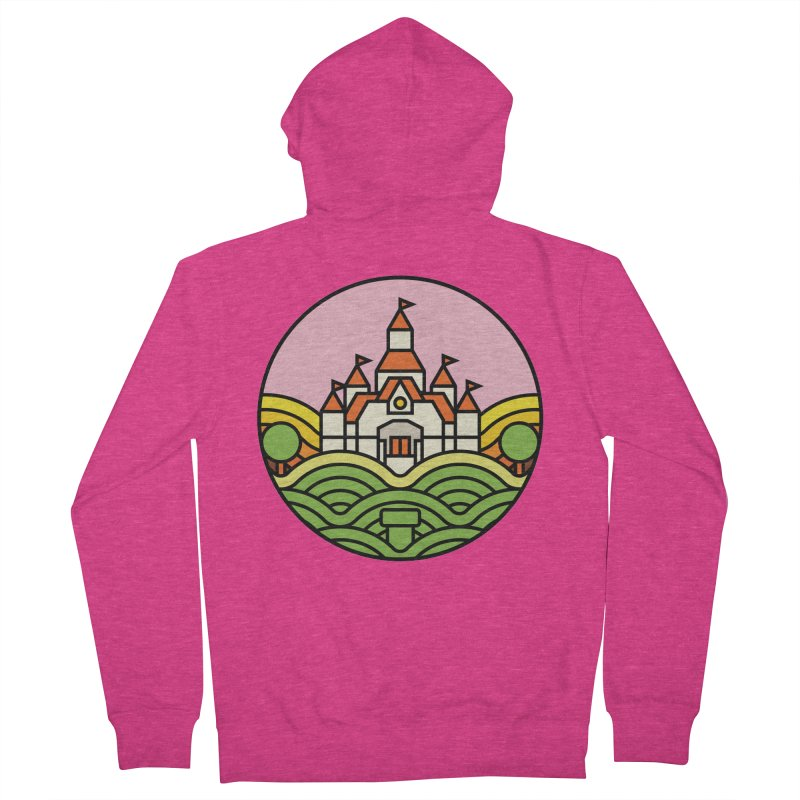 The Mushroom Kingdom Women's Zip-Up Hoody by jasoncryer's Artist Shop