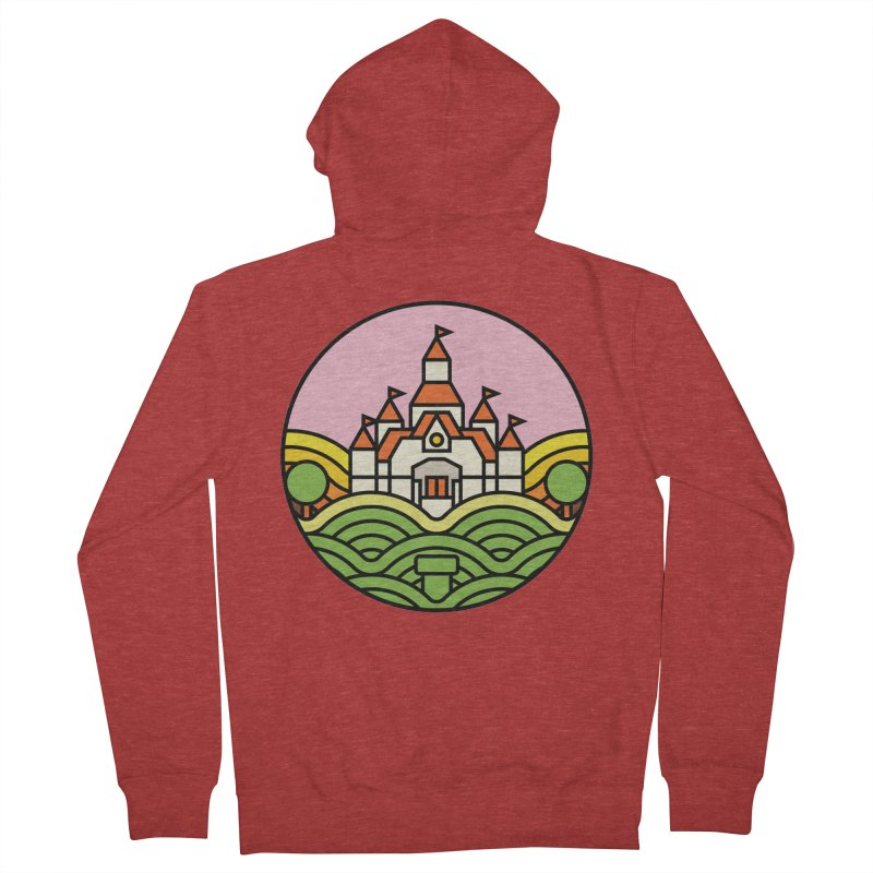The Mushroom Kingdom Men's Zip-Up Hoody by jasoncryer's Artist Shop