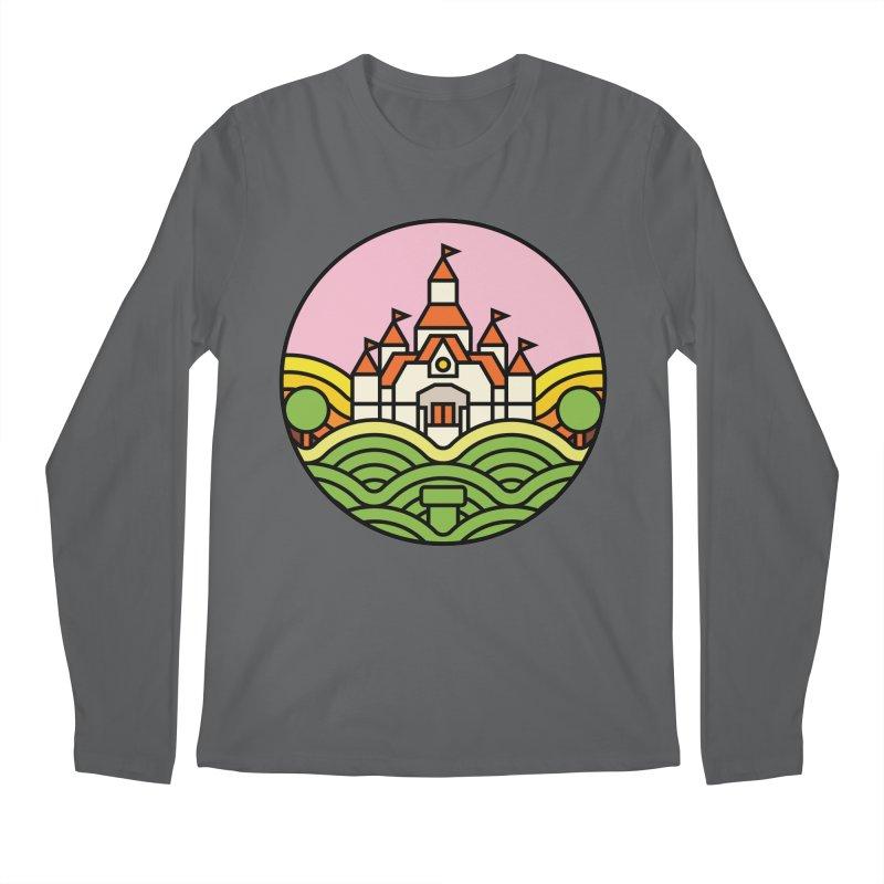 The Mushroom Kingdom Men's Regular Longsleeve T-Shirt by jasoncryer's Artist Shop