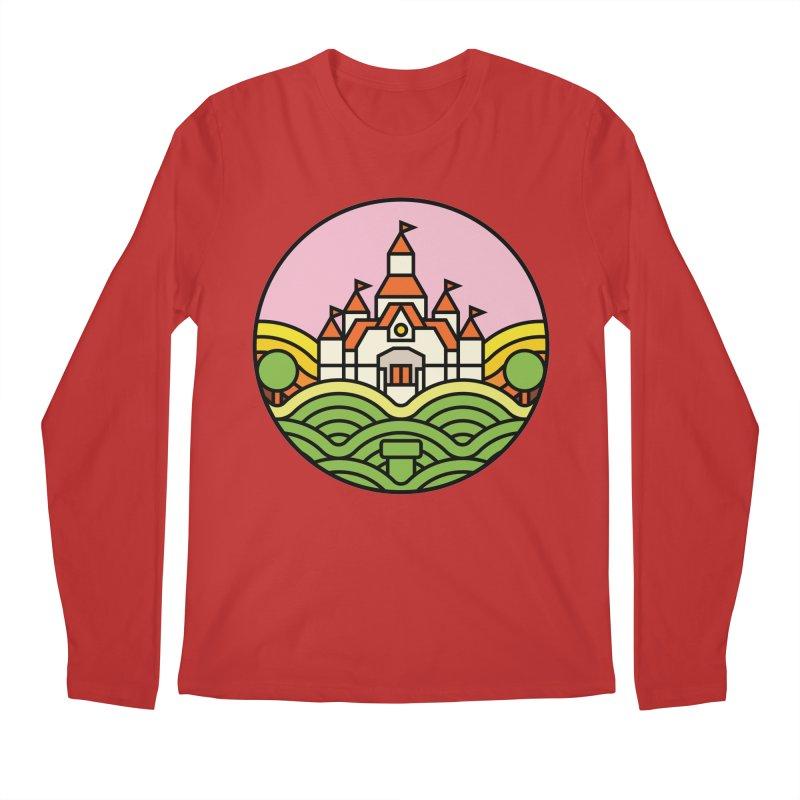 The Mushroom Kingdom Men's Regular Longsleeve T-Shirt by Jason Cryer