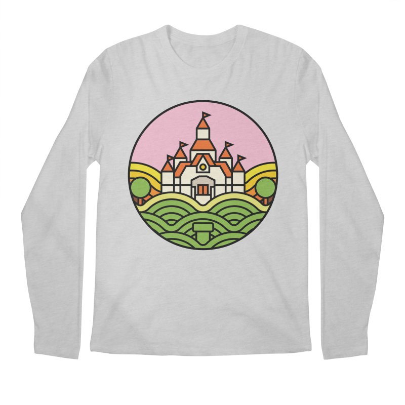 The Mushroom Kingdom Men's Longsleeve T-Shirt by jasoncryer's Artist Shop