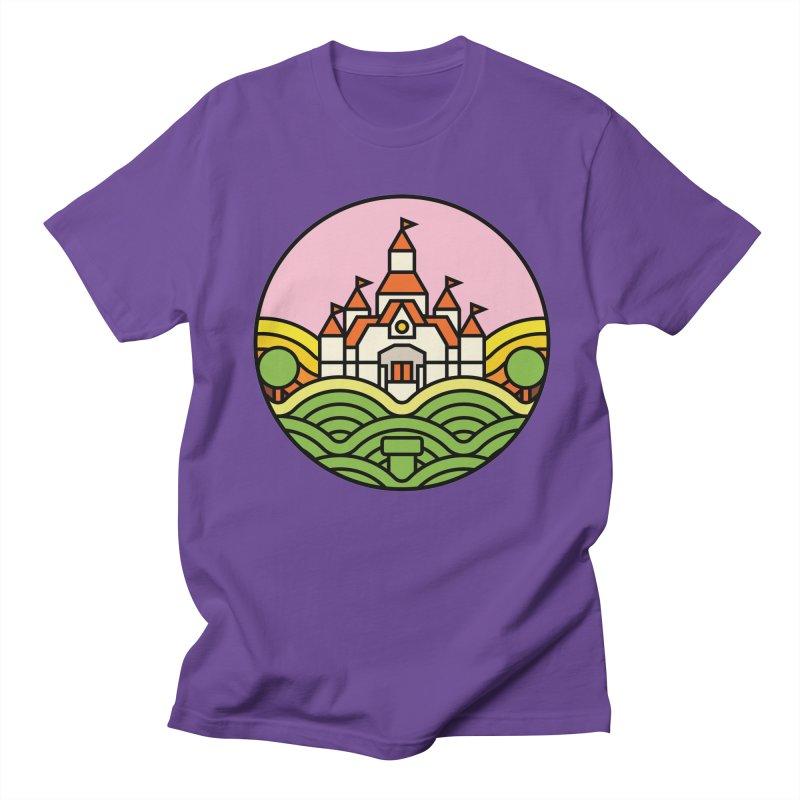 The Mushroom Kingdom Men's Regular T-Shirt by jasoncryer's Artist Shop
