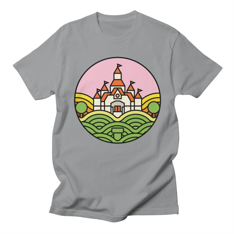 The Mushroom Kingdom Men's Regular T-Shirt by jasoncryer's Artist Shop
