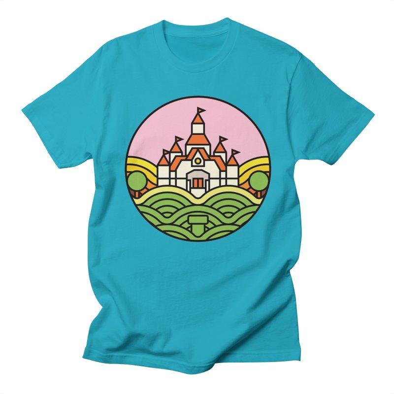 The Mushroom Kingdom Men's Regular T-Shirt by Jason Cryer